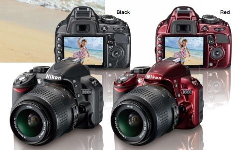 Nikon-d3100-red